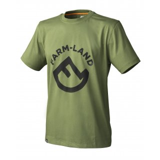 Farm-Land Herren T-Shirt Oliv